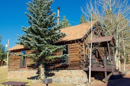 Historic log 4 BR Cabin 6 in the heart of Greer! - Greer