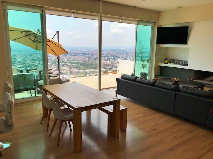 Casa/depto con vista a Santiago de Querétaro