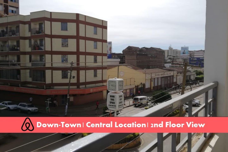 1BR King, Fast Wi-Fi, DSTV, In City Centre. #B1