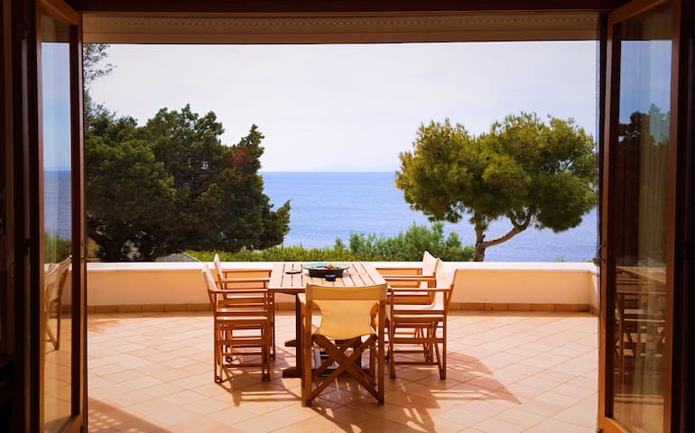 Seaside House with Pool near Sounion - Thimari - Casa