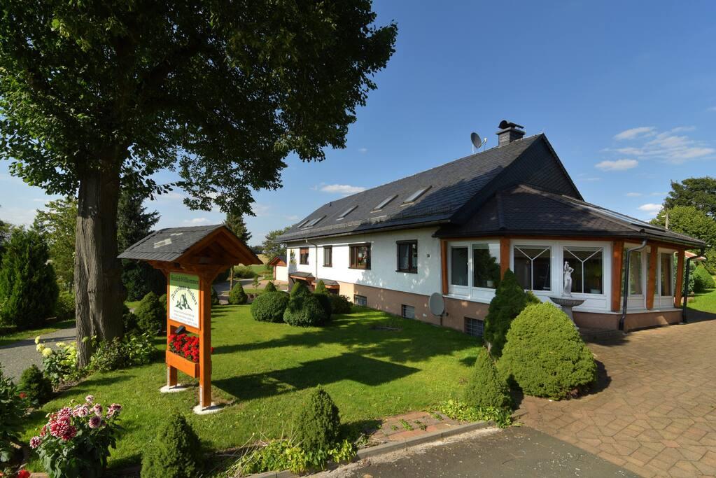 Ferienhaus Richter mit Wintergarten