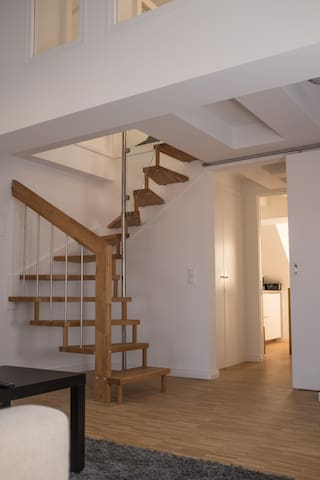 Luxury apartment, 1 min to Sanssouci and Shopping
