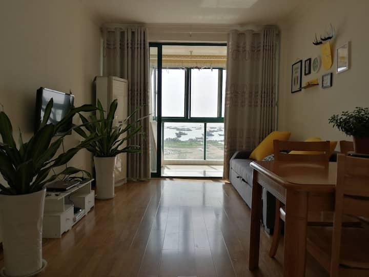 连岛星岛小屋,特色海景房,大床房