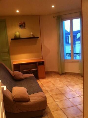 Studio F1 entièrement meublé - Tours - Apartment