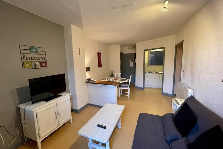 Spacious T2 apartment in the center of Roanne.