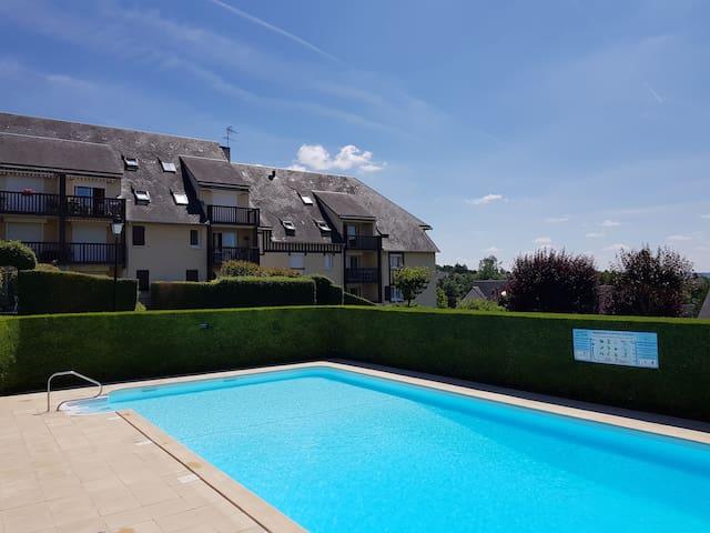 Appartement à Trouville - Touques avec piscine