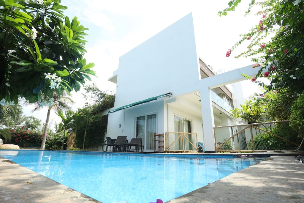 A Gem Of A Beach House With Swimming Pool Villas For Rent In Kanathur Reddikuppam Tamil Nadu