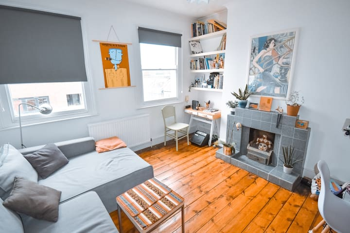 ☼ Vibrant 1Bed Apt - 15mins to Shoreditch ☼