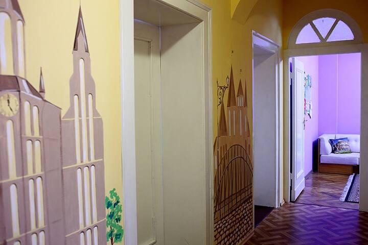 Квартира в культурно - историческом центре города