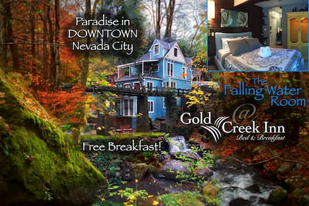 Gold Creek Inn B&B Falling Water - Nevada City - Bed & Breakfast