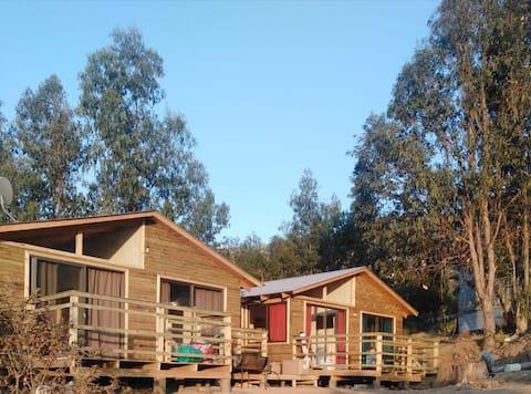 Cabañas en el campo Lomas de Lautaro