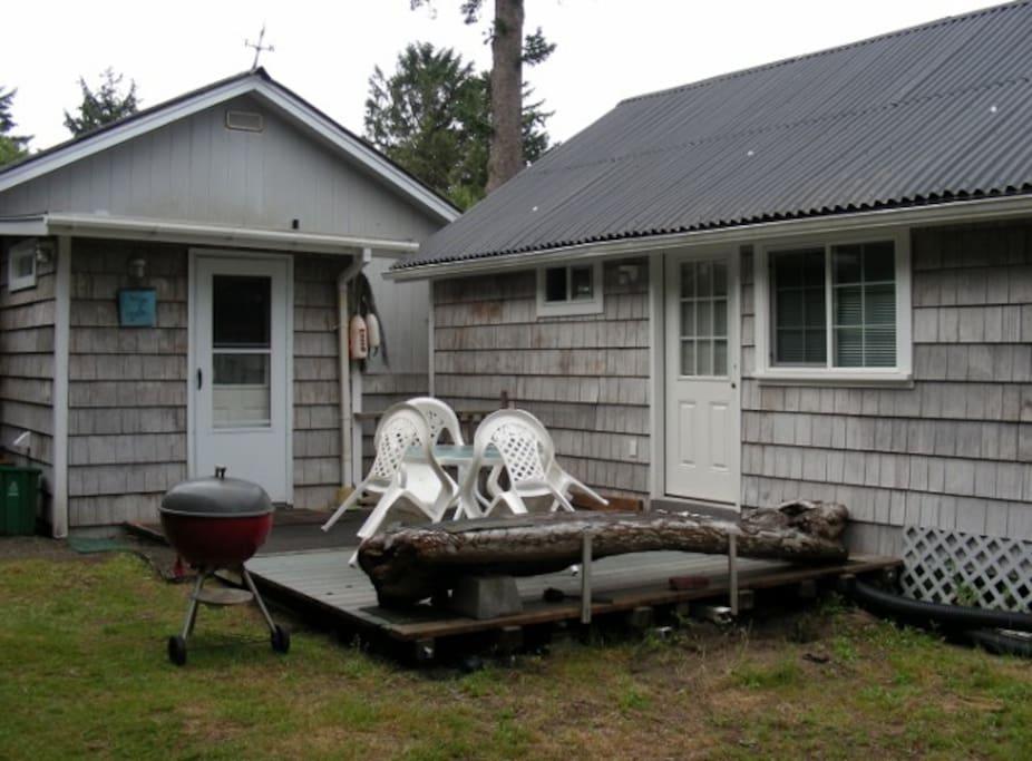 Back Porch Area Quite Private
