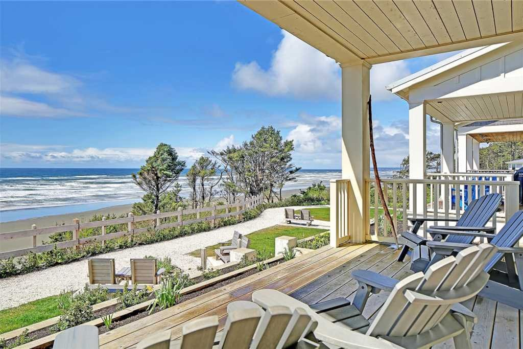 Sweeping ocean views on front porch