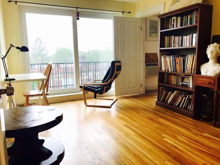 One bedroom at Harvard Square to share