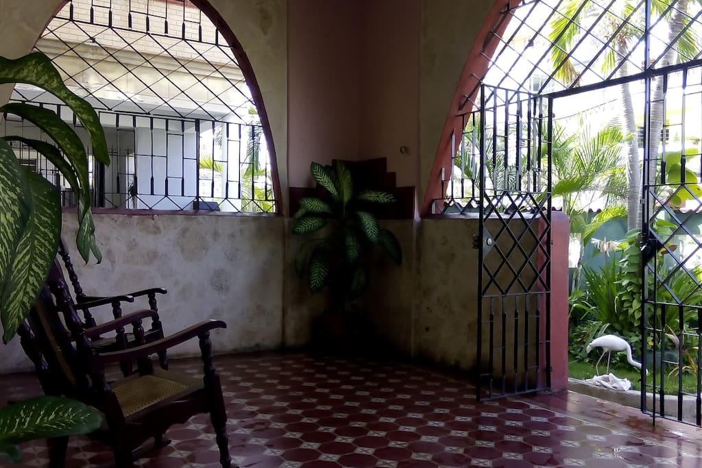Portal de la casa