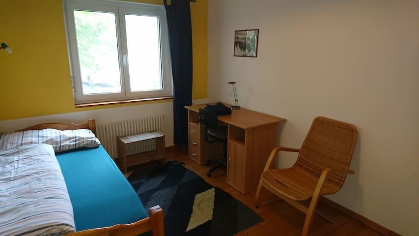 Einzelzimmer/Ferienzimmer 5 auf dem BioHof Schmeli