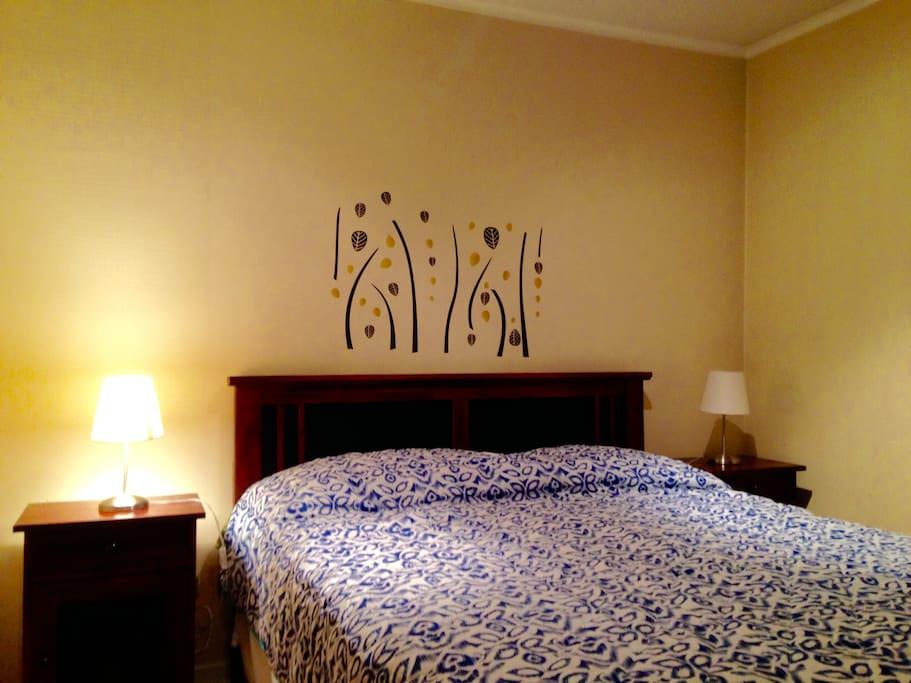 cama de 2 plazas