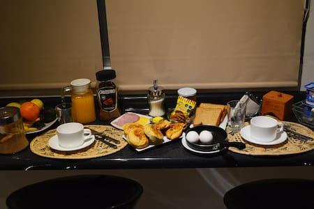 Desayuno hecho en casa, apartamento privado - Viña del Mar