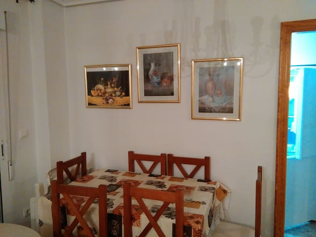 Living room ~ dining table