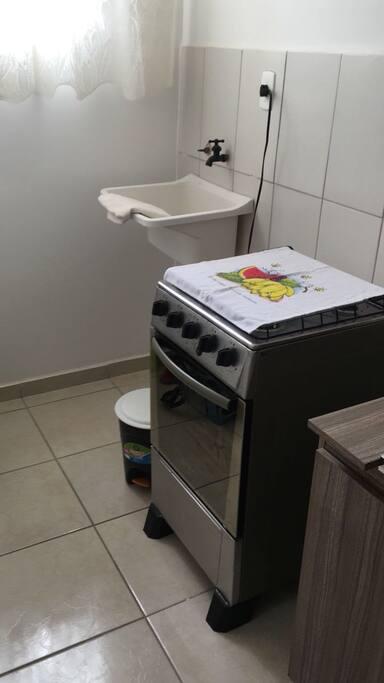 Cozinha e Fogão, Lavabo