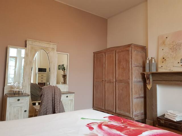Chambre double privative dans maison de charme
