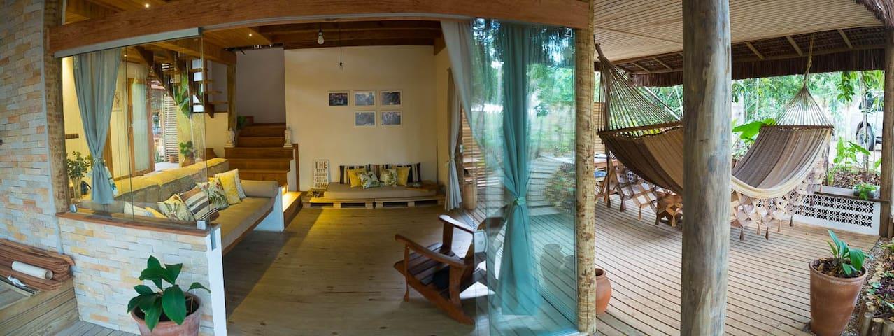 Casa da Luz do Sol-Piracanga-Peninsula de Maraú - Itacaré - Casa