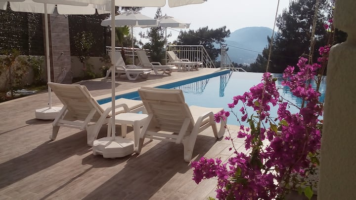 Villa with private pool and great views  Oludeniz