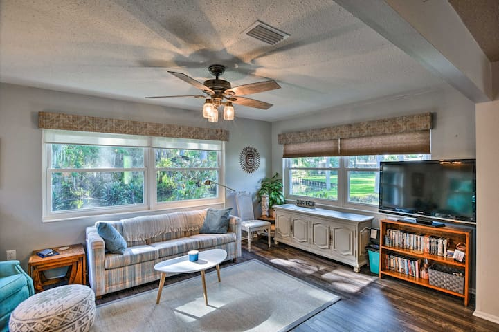 Lake Wales Home on Canal w/ Lake Access!