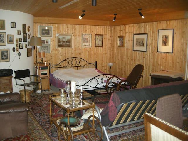 Großes Zimmer im Keller nahe Rheinbach - Swisttal - Talo