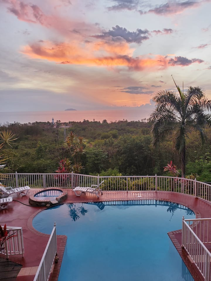 Rincon Surf Love Shack w/ Pool and Fabulous Views!