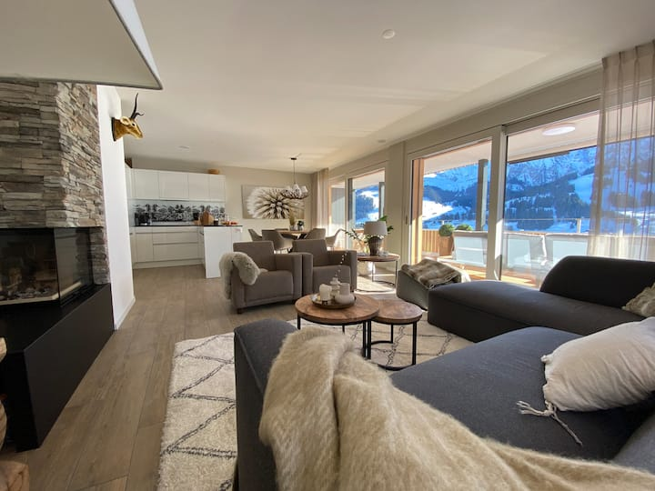 Brand new apartment in the heart of Adelboden