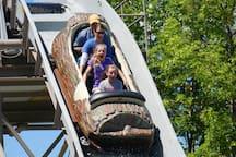 Silverwood Log Ride.