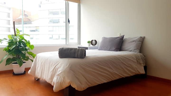 Luxurious Bedroom / TV (WTC, Condesa & Roma)*