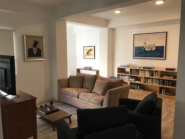 Elegant spacious bright apartment in hip area. - Juárez - Pis
