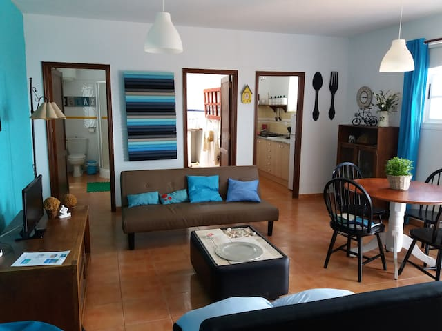 Comfoetable apartament with a great views to pool - Puerto del Rosario - Apartamento
