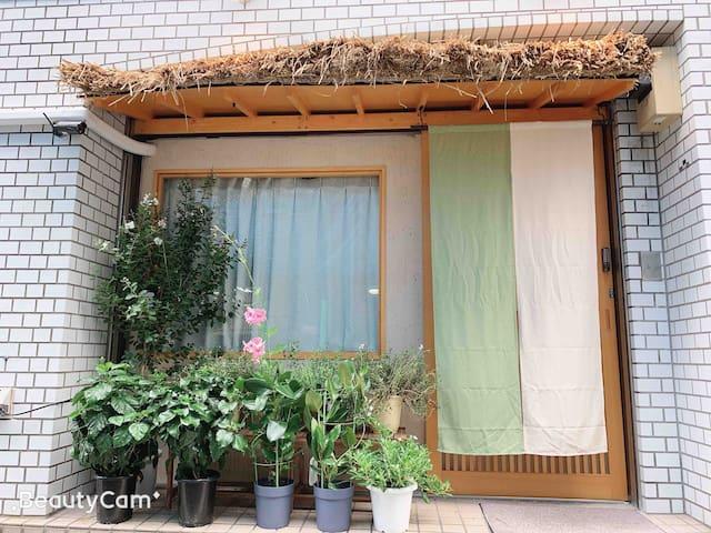 101全新温馨独立房间。5分钟步行到秋叶原上野。免费Wi-Fi。附近大量餐厅购物出行方便