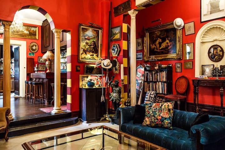 Artist's family home in Paddington