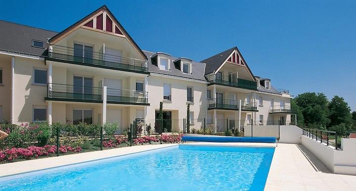 Appartement avec piscine proche Tours et Loire
