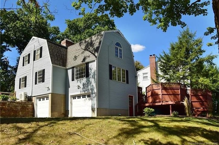 Cozy house close to the W. H. Center - West Hartford - Rumah
