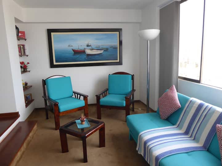 Miraflores Apartment with friendly service, safe