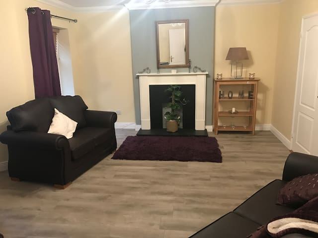 Large two bed apartment own Door - Lucan - Flat