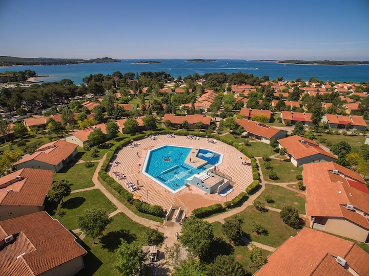 Apt for 2 persons with pool in Fažana R69353