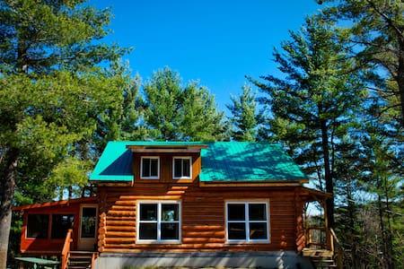 1 - Mountain Log Home Cottage - Faház