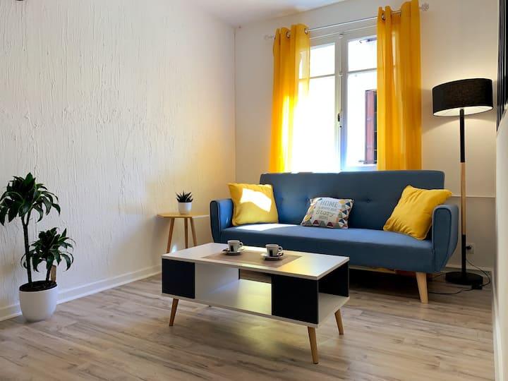 Appartement design Carcassonne centre ★ WIFI fibre