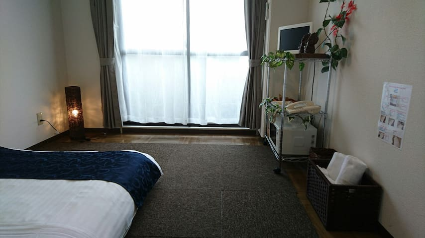2☆ 10min walk to Peace Park, A-bomb Dome! Stylish - Hiroshima-shi - Apartment