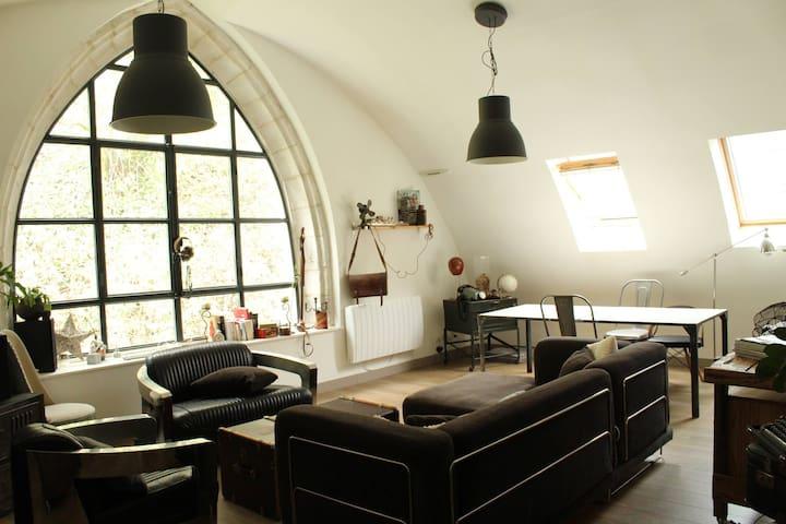 Appartement de Charme dans ancien COUVENT - Canteleu - Byt