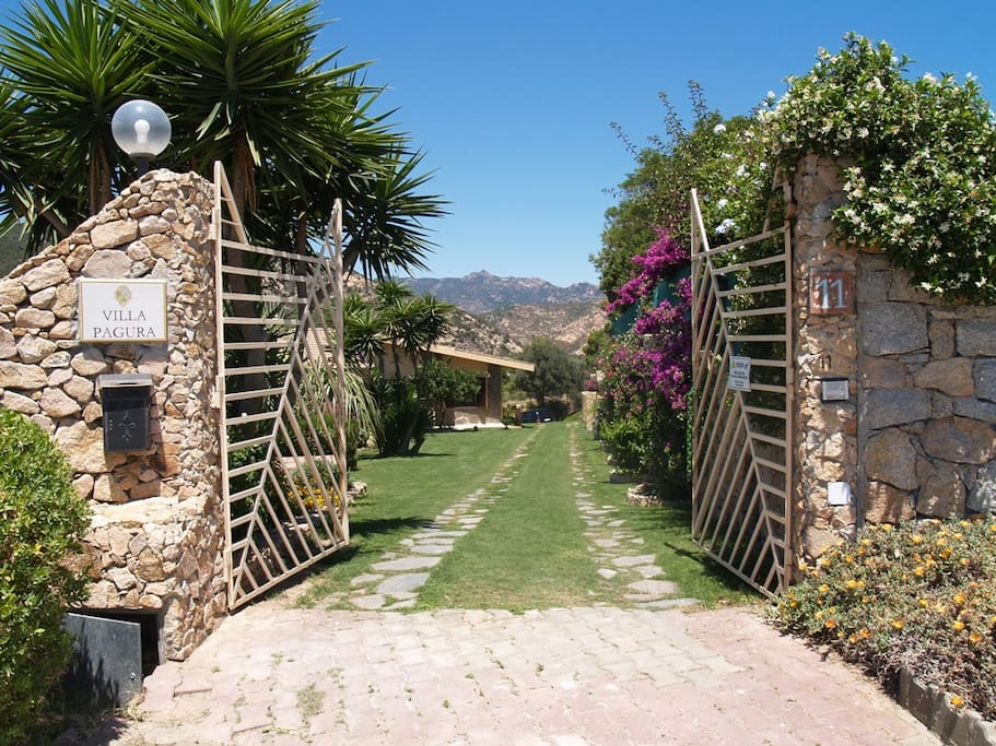 Ingresso Villa Pagura
