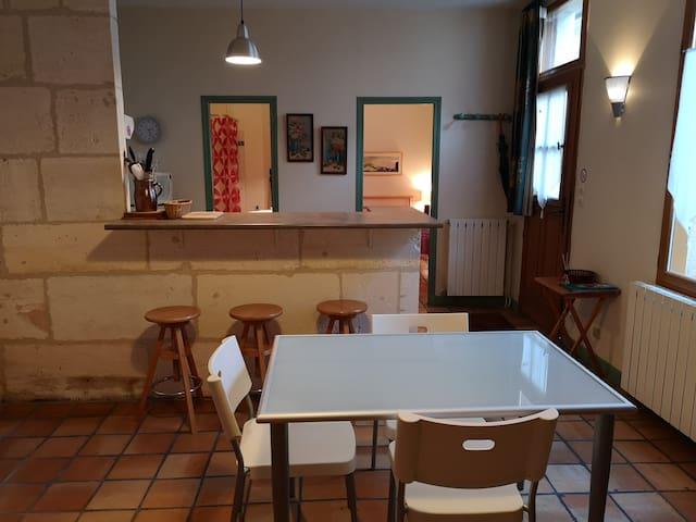Appartement au centre de Rochefort pour 2 à 3 pers