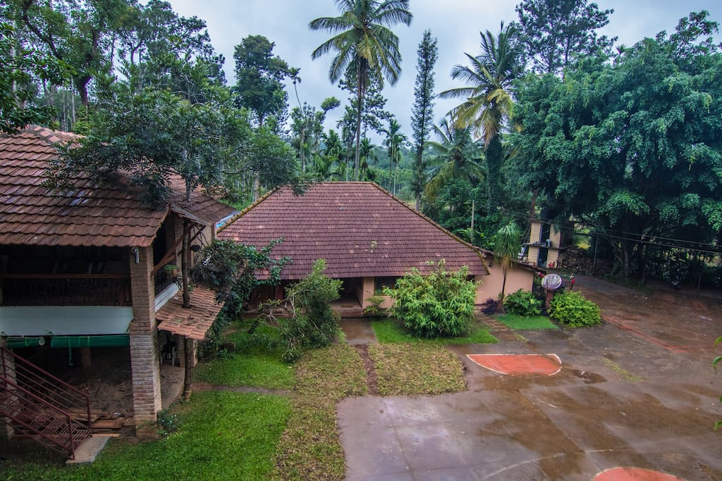 A traditional  homestay in Coorg