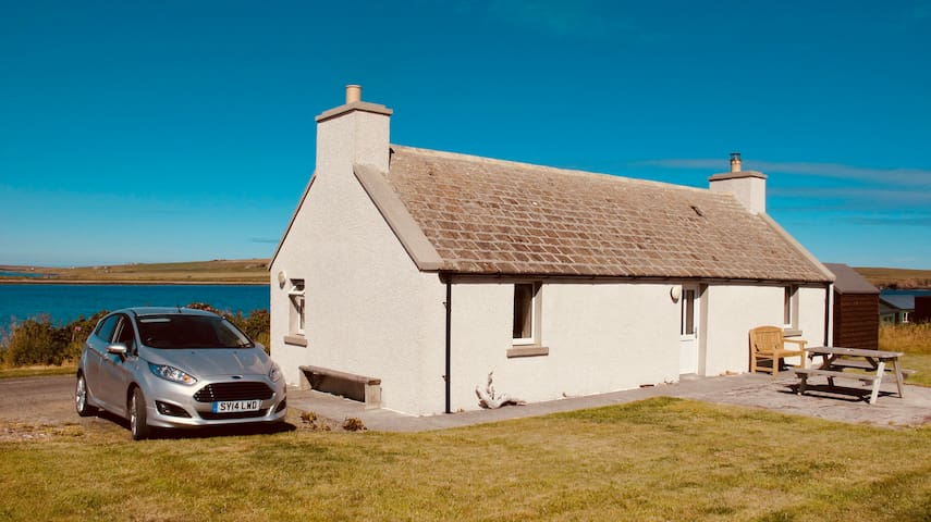 Traditional Orkney Cottage on the island of Hoy